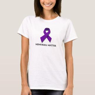 Erinnerungens-Angelegenheits-Alzheimer T-Shirt