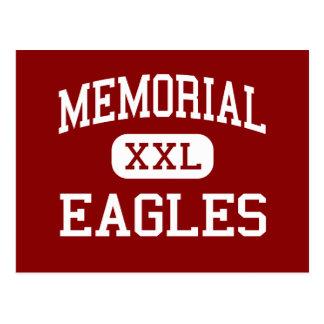 Erinnerungs- Eagles - Sekundarschule - Laredo Postkarte