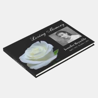 Erinnerungs- oder Begräbnis- Guestbook Gästebuch