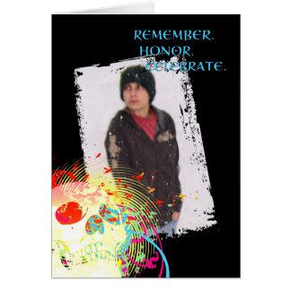 Erinnerungsfeier dia de Los Muertos: Hifi Karte