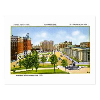 Erinnerungsquadrat, Nashville, Tennessee Postkarte