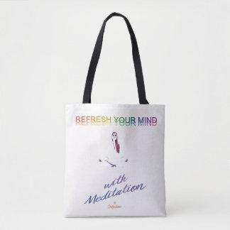 Erneuern Sie Ihren Verstand mit Meditations-Tasche