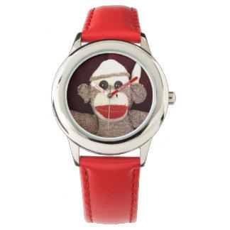 Ernie die Socken-Affe-Armbanduhr Uhr