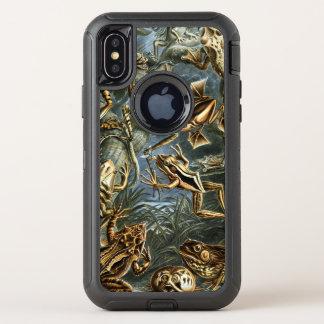 Ernst Haeckel-Vielzahl der exotischen Frösche: OtterBox Defender iPhone X Hülle