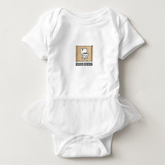 ernster Geschäftsspaß Baby Strampler