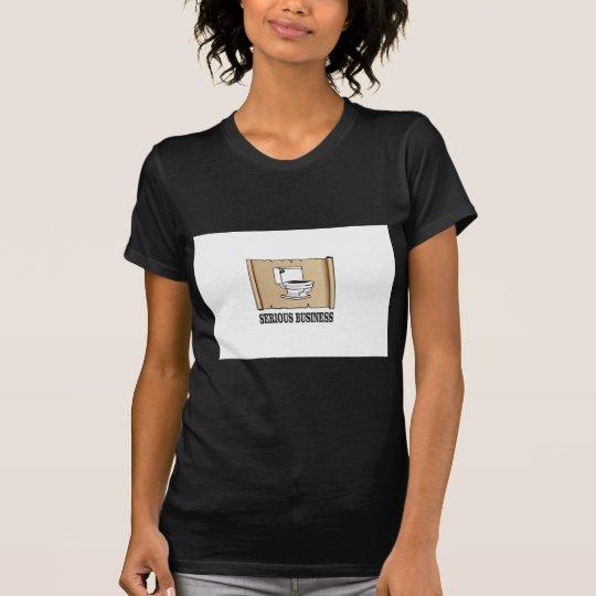 ernster Geschäftsspaß T-Shirt