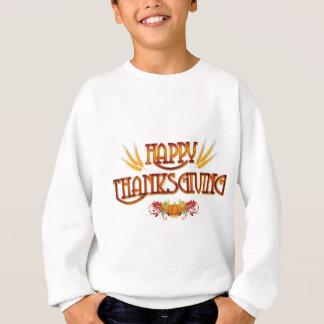 Ernte-glücklicher Erntedank Sweatshirt