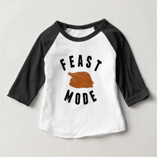 Erntedank-die Türkei-Baby des Fest-Modus-| Baby T-shirt