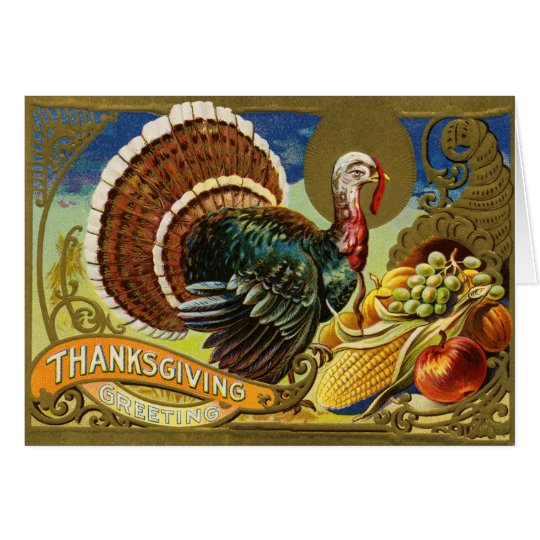 Erntedank die Türkei Karte