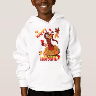 Erntedank die Türkei und Herbst-Blätter-Shirts Hoodie