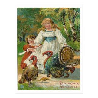 Erntedank-Grüße Postkarte