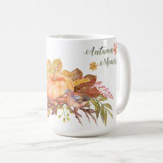 "Erntedank - ""Herbst-Erinnerungen"" - Watercolors1 Kaffeetasse"