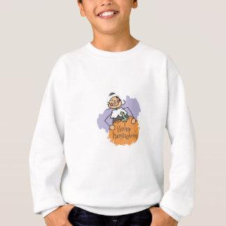 Erntedank-Pilger-Mädchen Sweatshirt