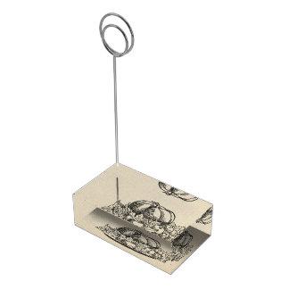 Erntedank-Tagesmenü Tischkartenhalter