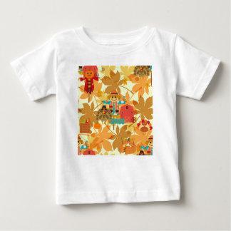 Erntedankvogelscheuche Baby T-shirt