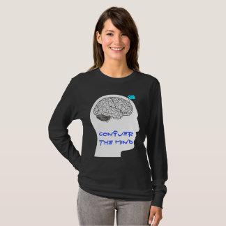 Erobern Sie den Verstand - langes sleeved Shirt