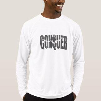 Erobern Sie Sport-Tek angepasste Leistungs-lange T-Shirt