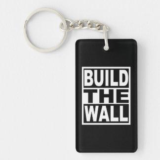 Errichten Sie die Wand Schlüsselanhänger