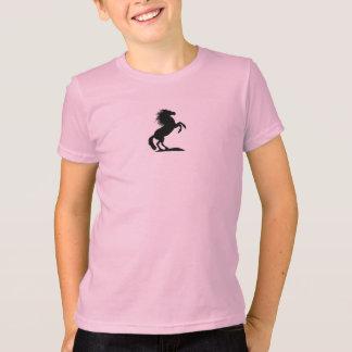 Errichtung schwarzen Stallion.png T-Shirt