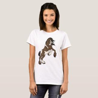 Errichtung von Clydesdale T-Shirt