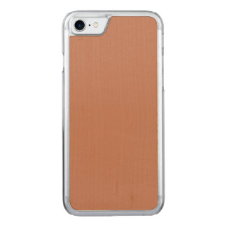 Erröten Gold kupfernes Brown Carved iPhone 7 Hülle