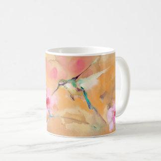 """Errötender"" Kolibri-Druck Kaffeetasse"