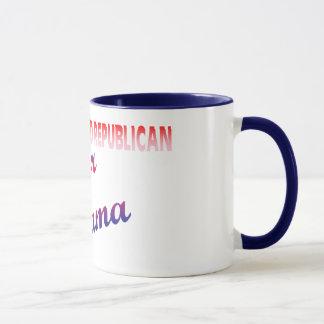 Errötender Republikaner Tasse