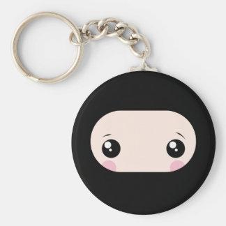 Errötendes Kawaii Ninja Schlüsselanhänger