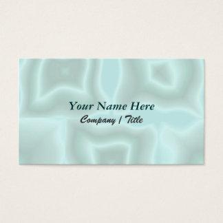 Erschütterungen in der aquamarinen Schablone Visitenkarte