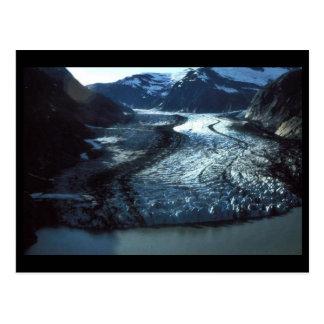 Erschütterungs-Gletscher in Südostalaska Postkarte