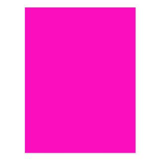 Erstaunlich lebhafte rosa Farbe P35 Postkarte