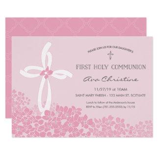 Erste die heilige Kommunions-Einladung des 12,7 X 17,8 Cm Einladungskarte