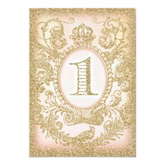 Erste Geburtstags-einst Prinzessin 12,7 X 17,8 Cm Einladungskarte
