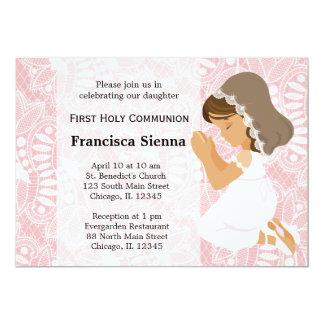 Erste heilige Kommunion 12,7 X 17,8 Cm Einladungskarte