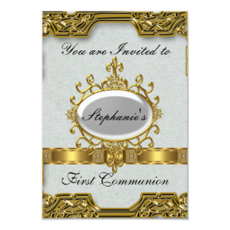 Erste heilige Kommunion Karte