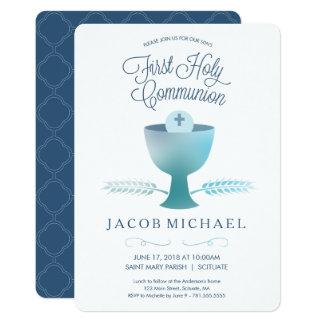 Erste heilige Kommunions-Einladung - 12,7 X 17,8 Cm Einladungskarte