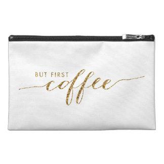 Erste Kaffee-Imitat-Glitterconfetti-Reise-Tasche Reisekulturtasche