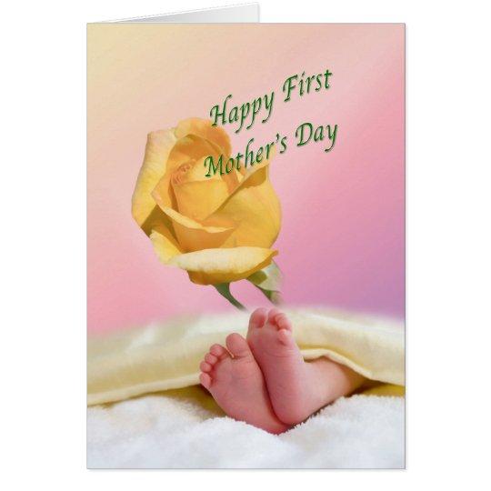 Erste Karte der Mutter Tages