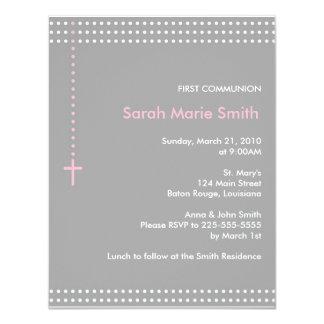 Erste Kommunion 10,8 X 14 Cm Einladungskarte
