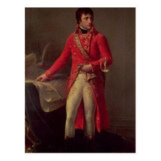 Erster Konsul Napoleon Bonaparte, 1802 Postkarte