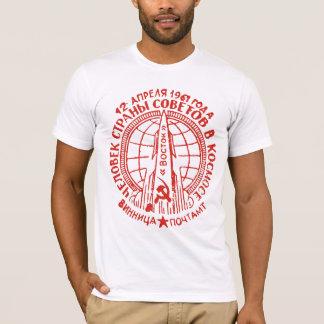 Erstes bemannter Raum-Flug-T-Shirt T-Shirt