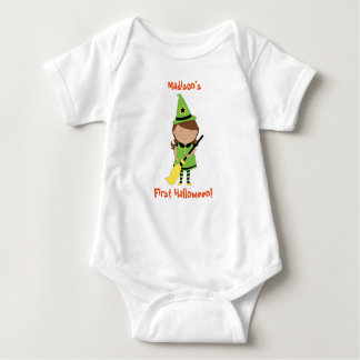 Erstes das Halloween-Shirt des Babys, Baby Strampler