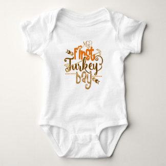 Erstes Erntedank-Shirt | mein erster die Baby Strampler