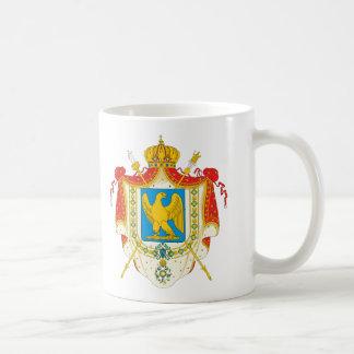 Erstes französisches Reich-Wappen (1804) Tasse