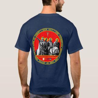 Erstes Kreuzfahrer-Siegel-Shirt T-Shirt