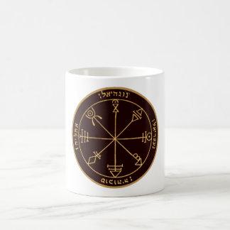 Erstes Pentagramm von Venus Kaffeetasse