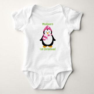 Erstes Shirt des Babys Weihnachts,
