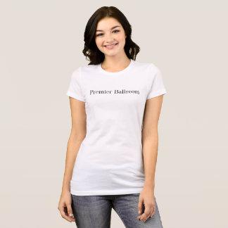Erstes T-Shirt Ballroom Slim Jersey Weiß