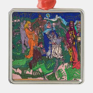 Erstes Weihnachten Silbernes Ornament