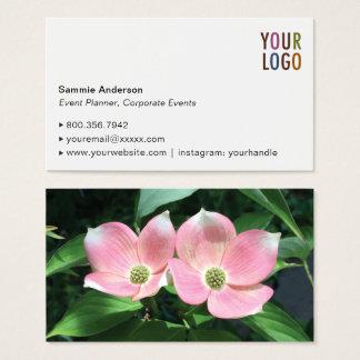 Erstklassige Geschäfts-Karten-Schablone mit Foto Visitenkarte